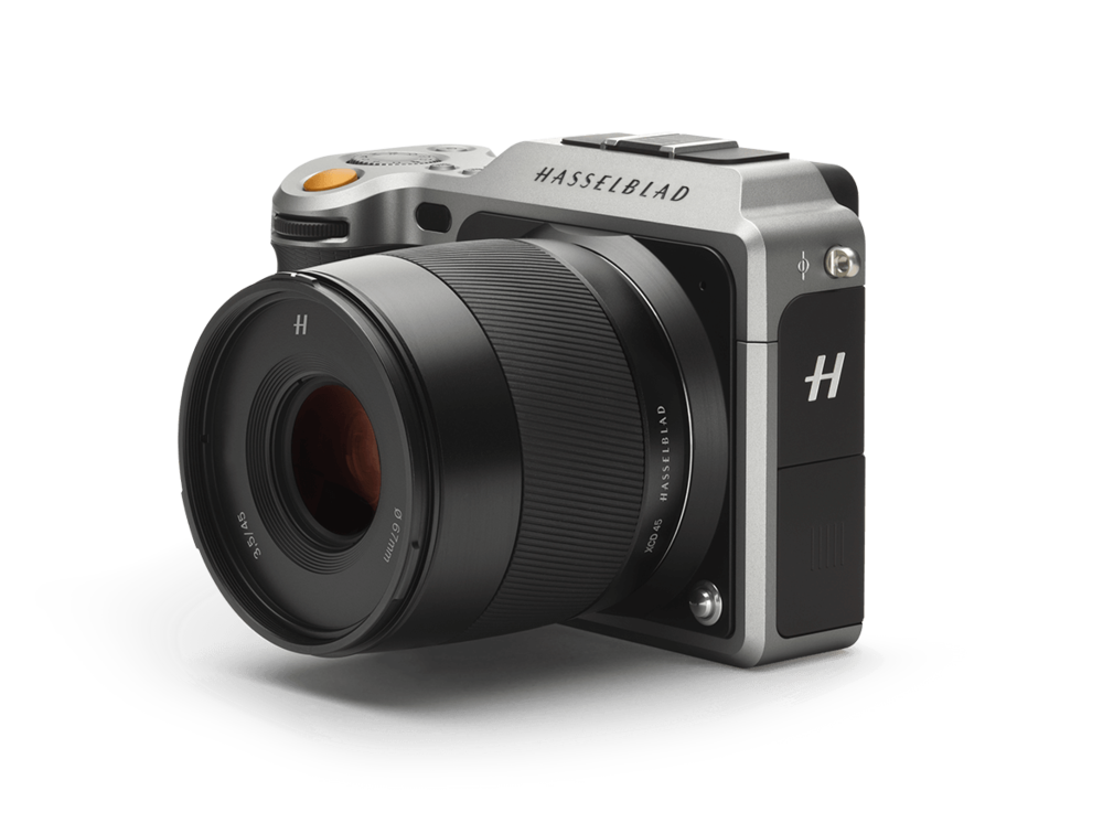 The Hasselblad X1D, small, light and unobtrusive, and also superb