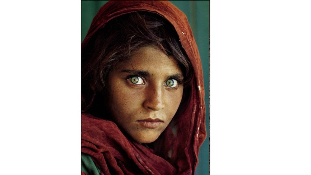 Afghan Girl copyright Steve McCurry - used for information purposes only
