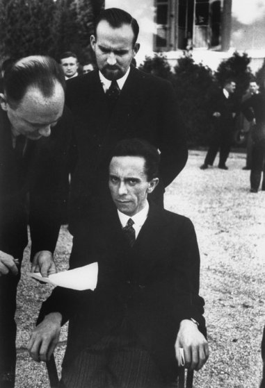 Joseph Goebbels copyright Alfred Eisenstadt/ TIME - used for informational purposes only