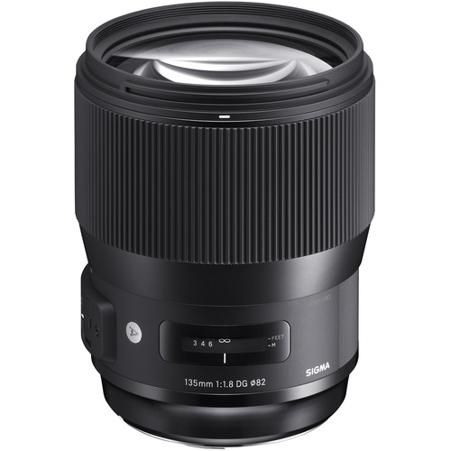 The Sigma 135mm f/1.8 ART.  Yes, that's a big hunk of glass up front