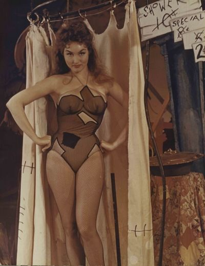 Julie Newmar on Broadway as Stupefyin' Jones in L'il Abner
