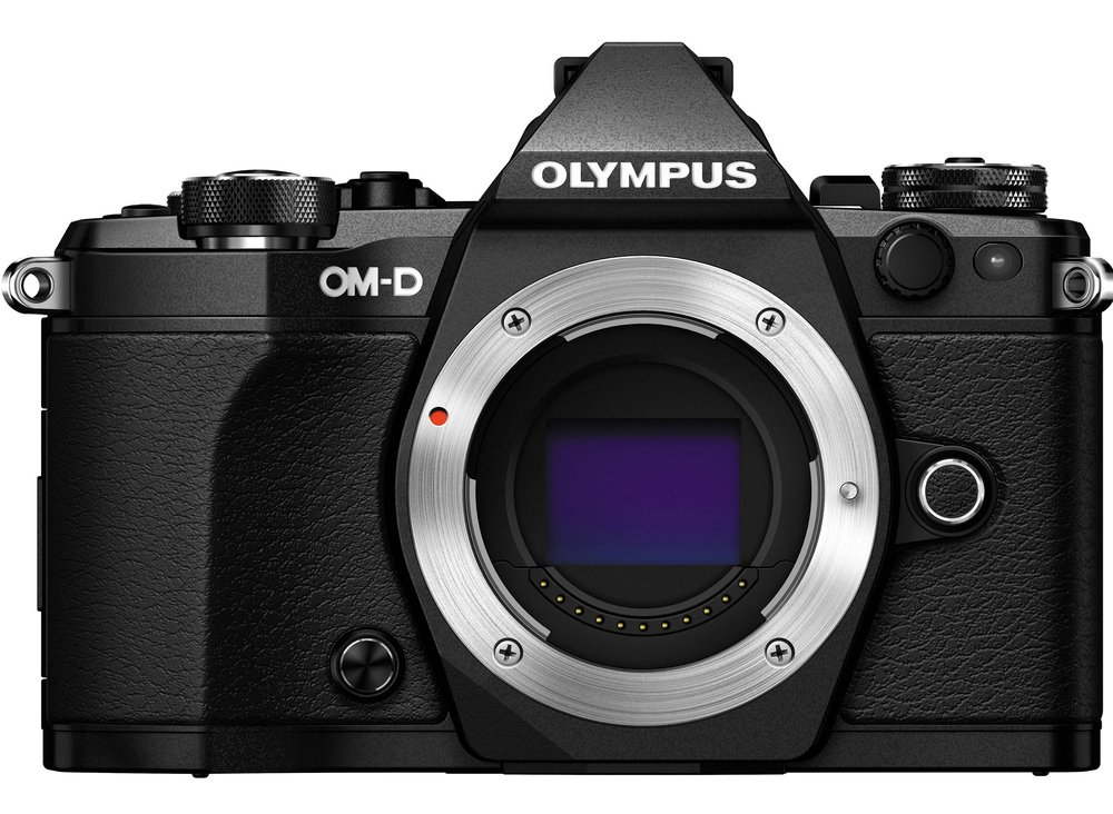 Olympus OM-D E-M5 Mark II mirrorless body with Micro 4/3 sensor