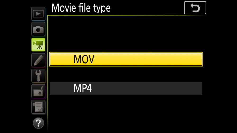 Choose between MOV and MP4 dependent upon your use cases