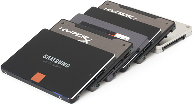 SSD drives.  The days of spinning mechanical drives are nearly over