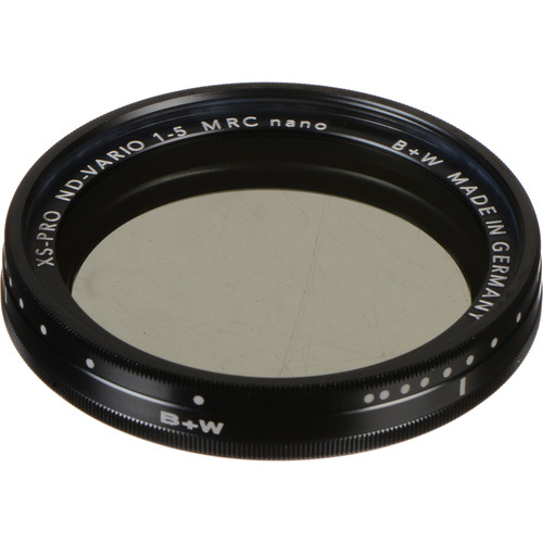 The B+W Variable XS-Pro MRC nano is a great variable, but note the thickness, this fellow will start vignetting on an ultra wide.  Click the image to buy one from B&H