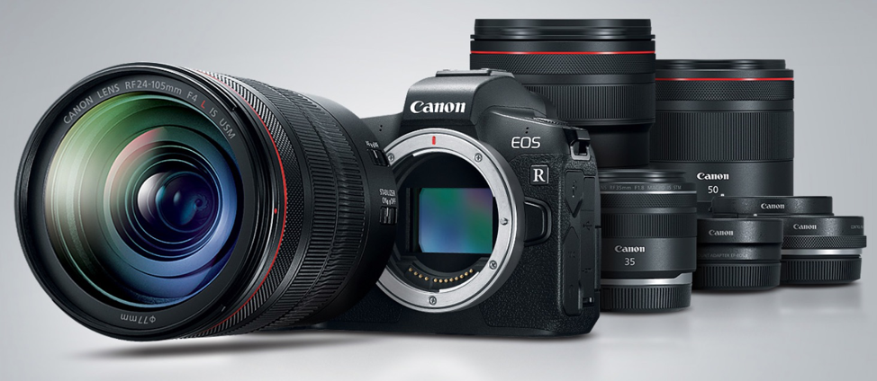 The Canon EOS R Family Announcement Image