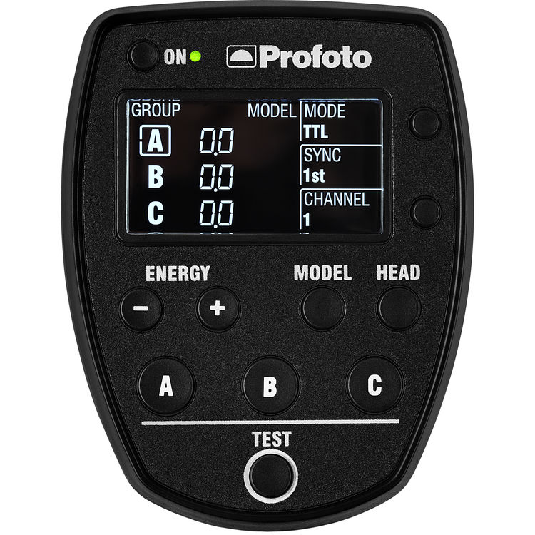 Profoto AirTTL Remote. This is the one I carry everywhere because it works with all my Profoto lights