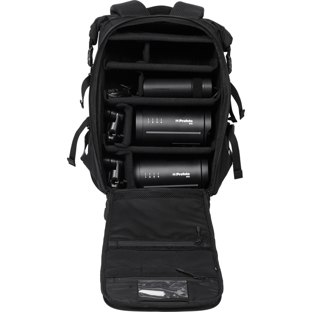 This is the dual kit which includes this really solid backpack, that you can in practice stuff with gear