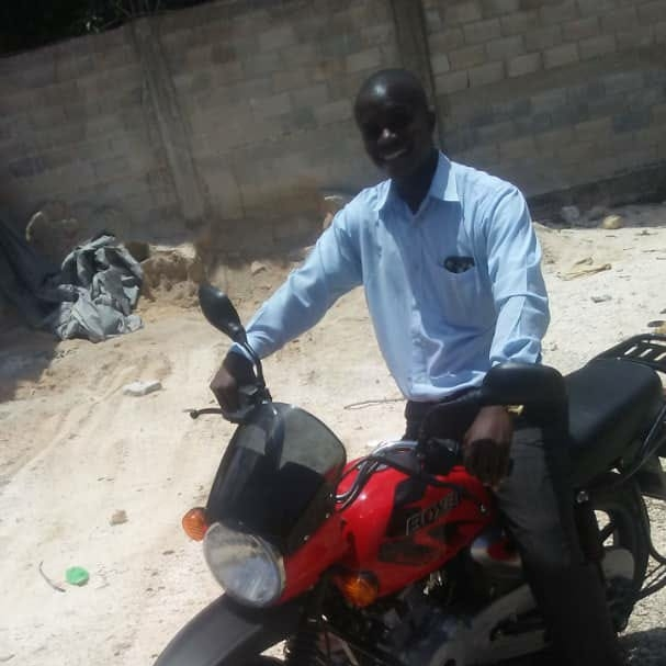 Funds donated to purchase a much-needed motorcycle for Pastor Abony, our lead pastor.
