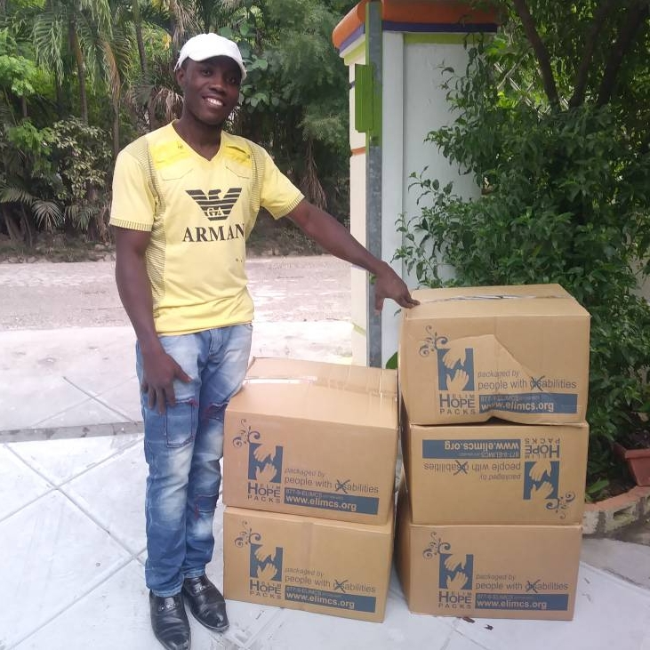 Received and distributed 400 boxes of Mannapacks (protein rice meals), 300 boxes of beans and 30 boxes of Back-to-School kits!