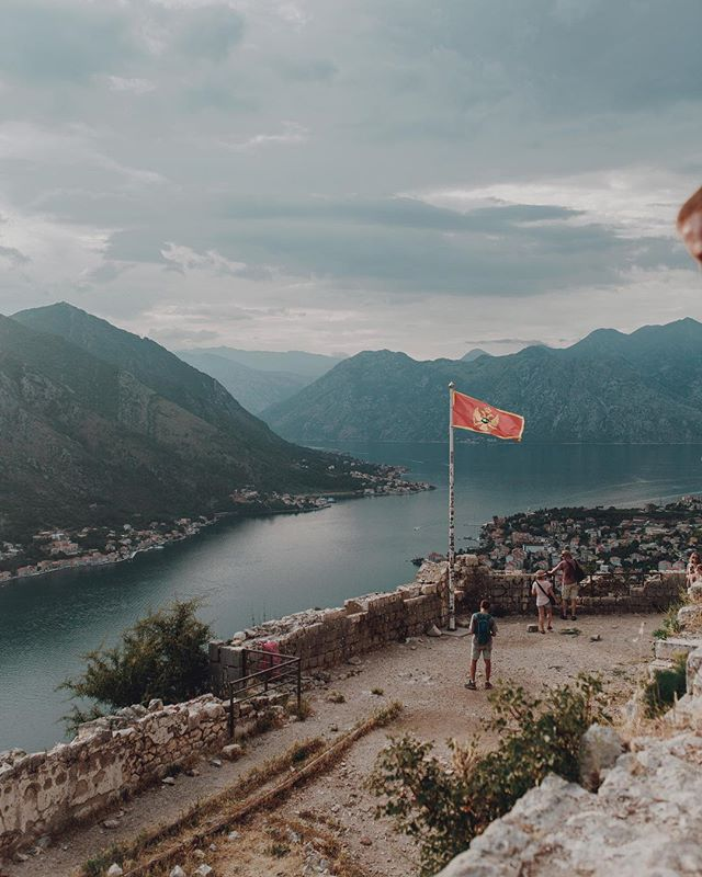 Highlight of my visit to Montenegro: climbing up to get this view.