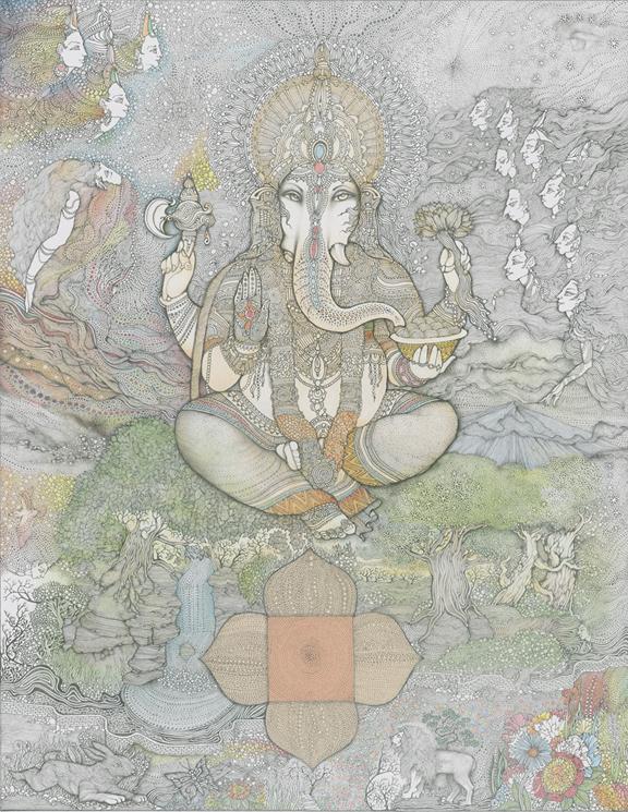Blessing Ganesha - Muni Natarajan