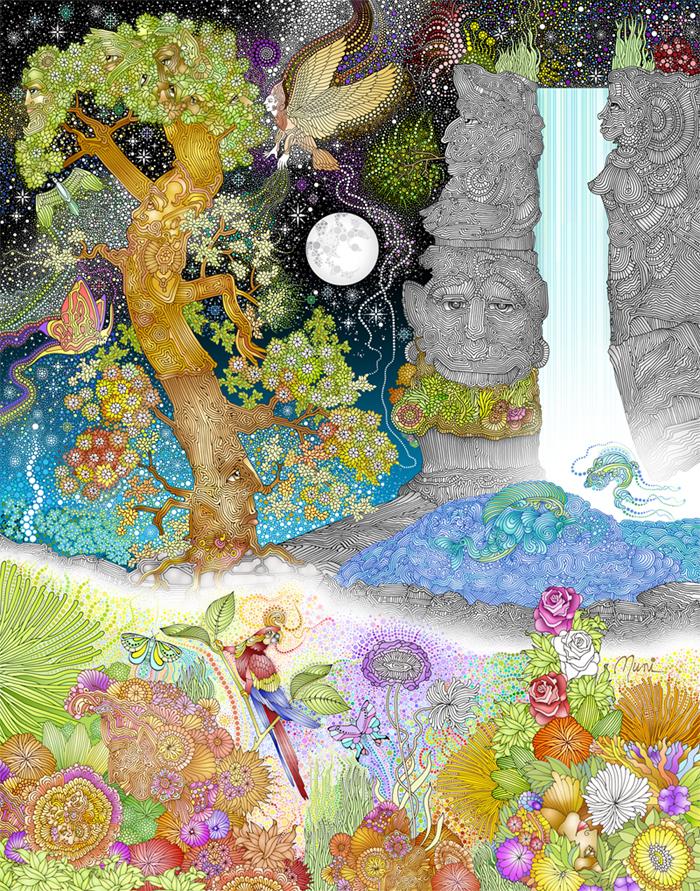 Garden Isle delights - Muni Natarajan