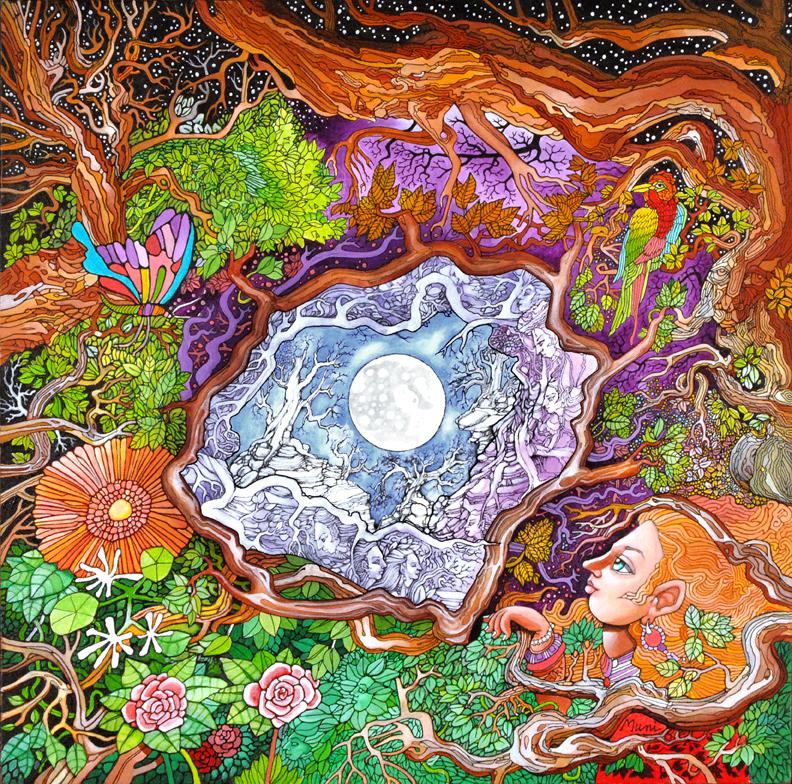 Moon Mandala - Muni Natarajan