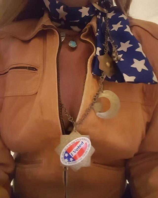 •America• __ #ivoted #represent #california  #losangeles #christineclaytonatelier
