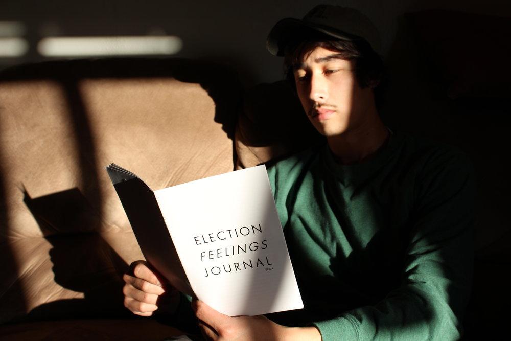 Election Feelings Journal Zine