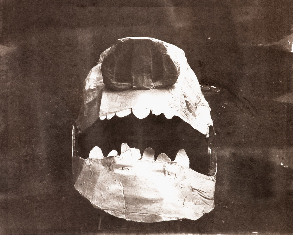 Giant Paper Head