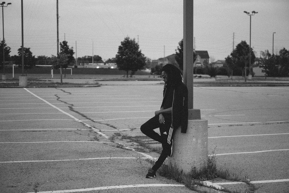 Quiet. -