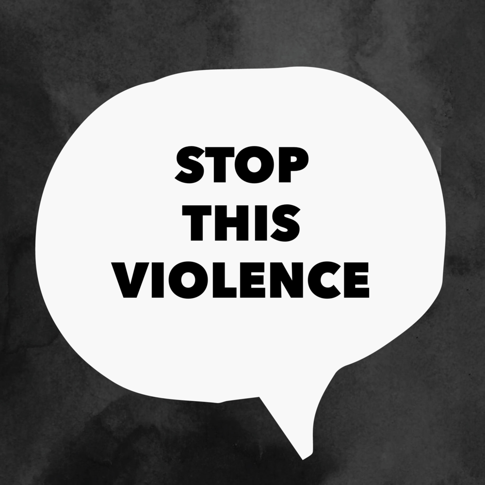 the notorious mum says stop the violence against women