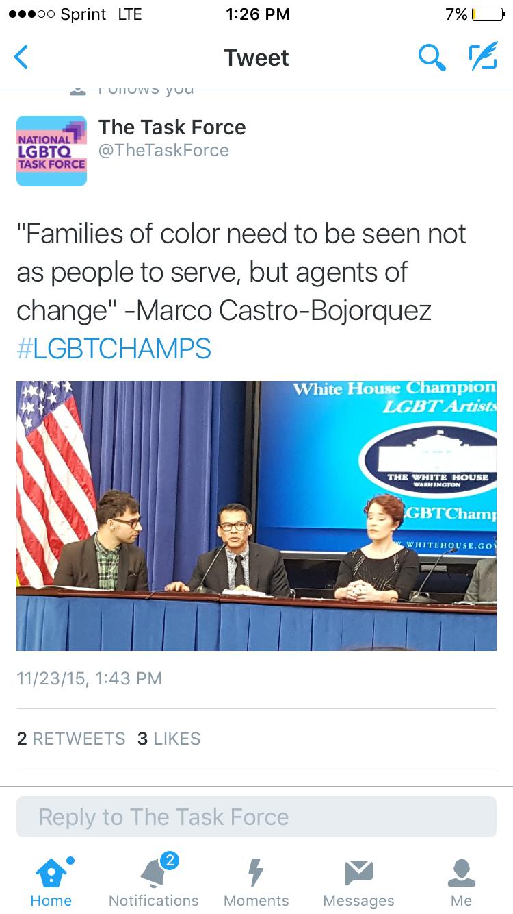 (C) Marco Castro-Bojorquez speaking
