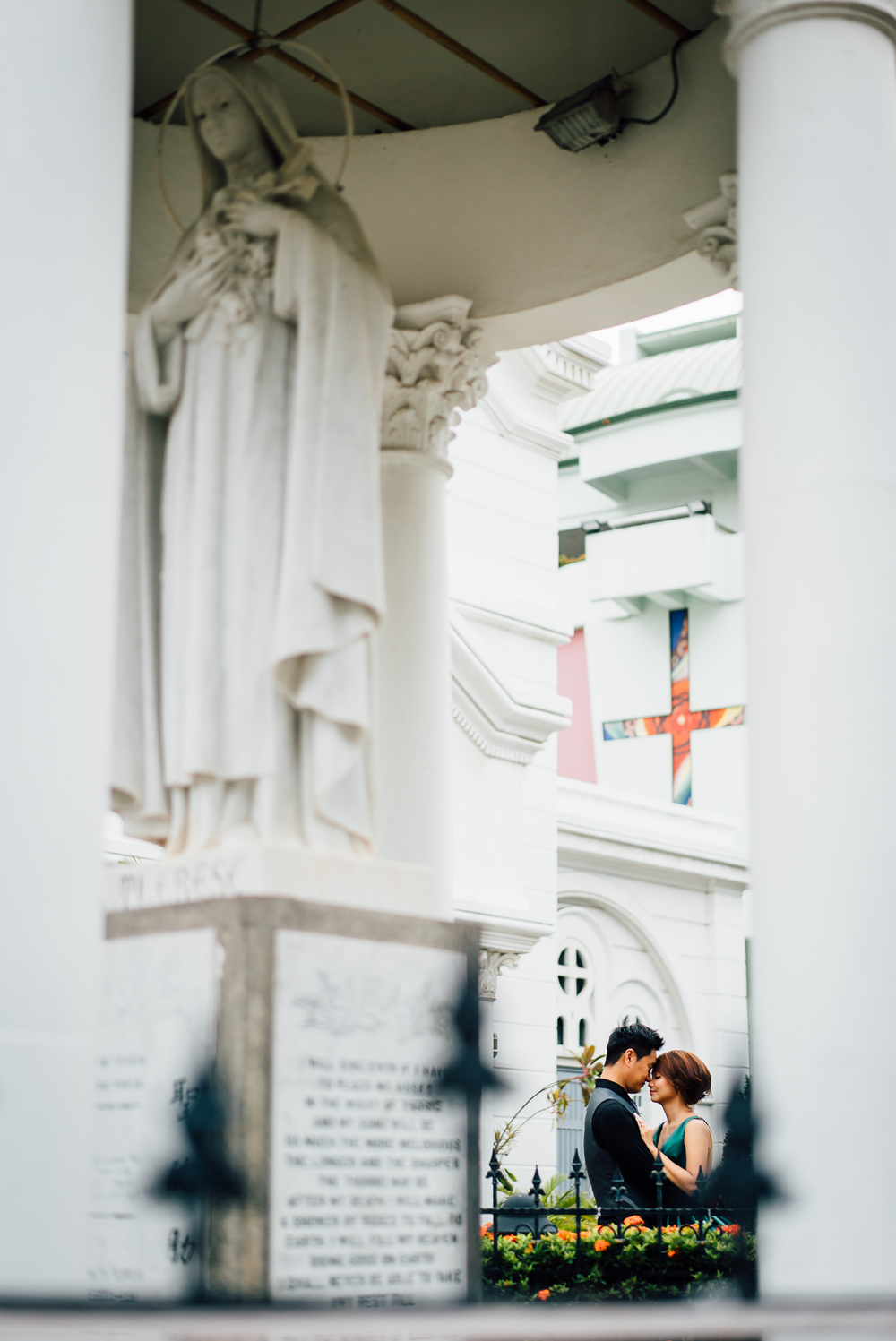 Singapore Wedding Photographer Serene & Vincent 1 degree 15 canterbury hill tuas church of saint terest pre wedding chris chang photography (24 of 31).JPG