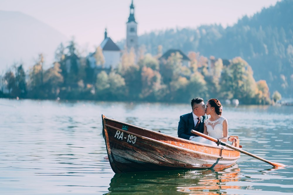 Destination wedding photography from Slovenia by Chris Chang Photography