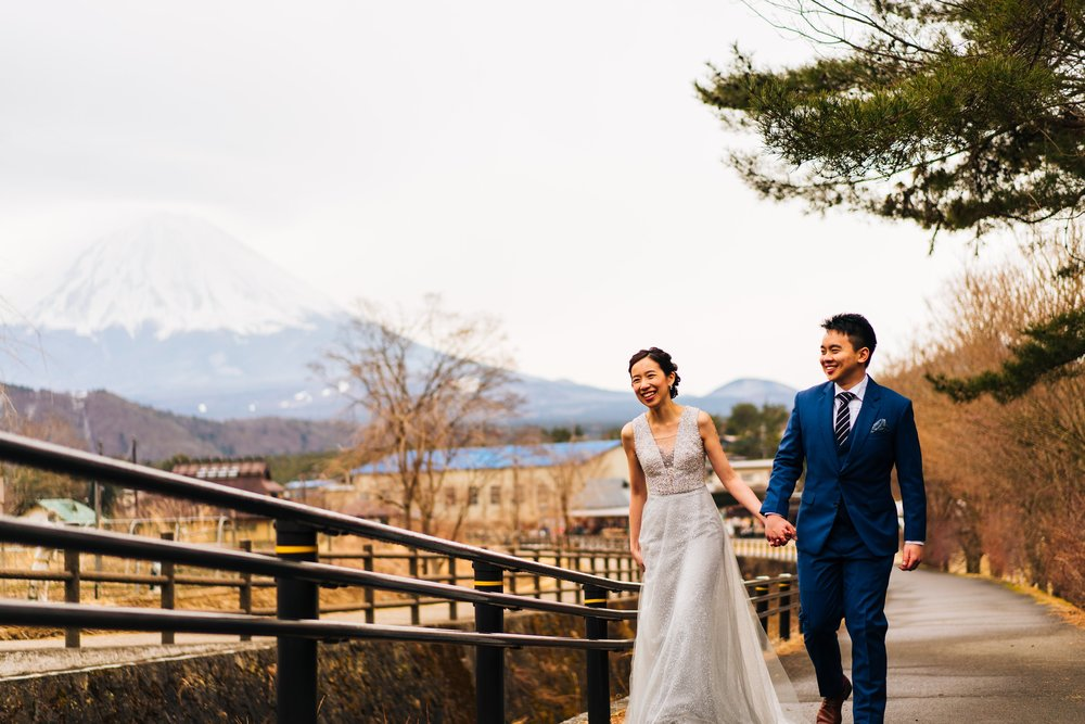 Pre-wedding Photography in Japan by Chris Chang Photography