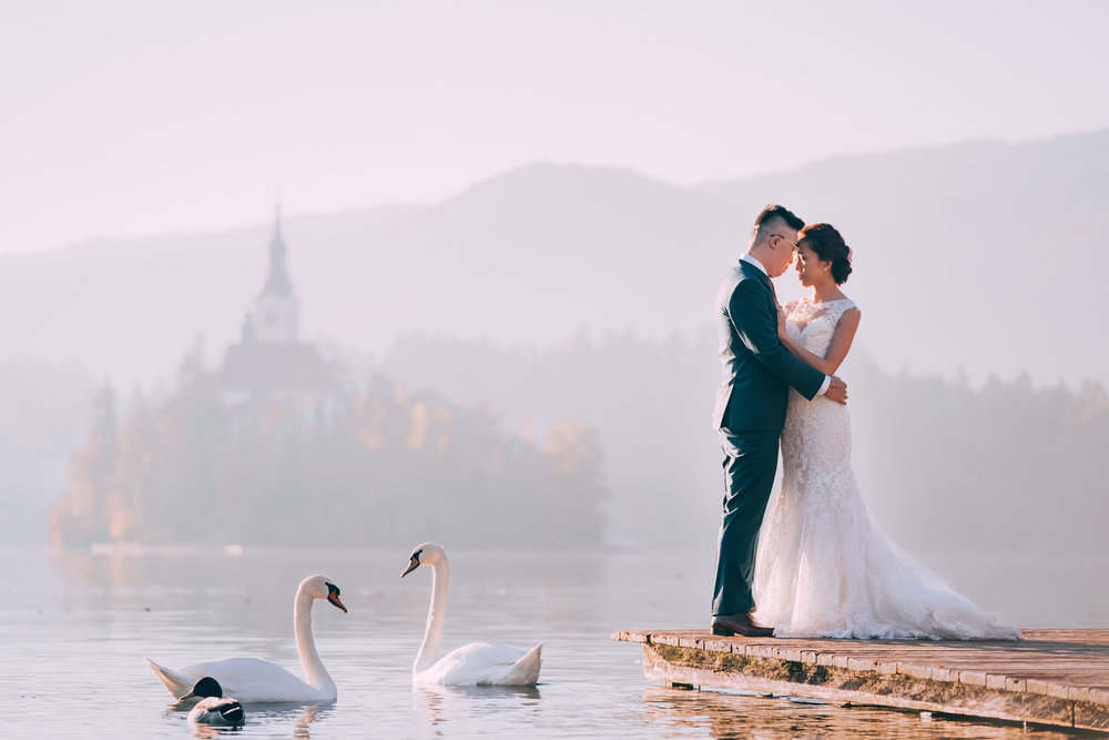 Wei Ming & Shi Min Pre Wedding Photography In Slovenia & Austria.