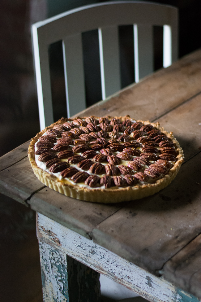 Weekend with the Dailys Sunday Suppers brunch pecan tart