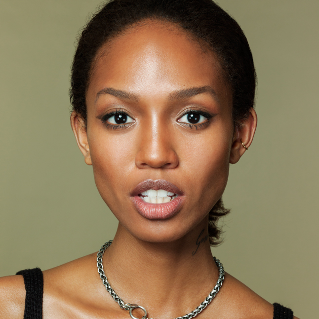 Look 6 Tom Ford: Contouring