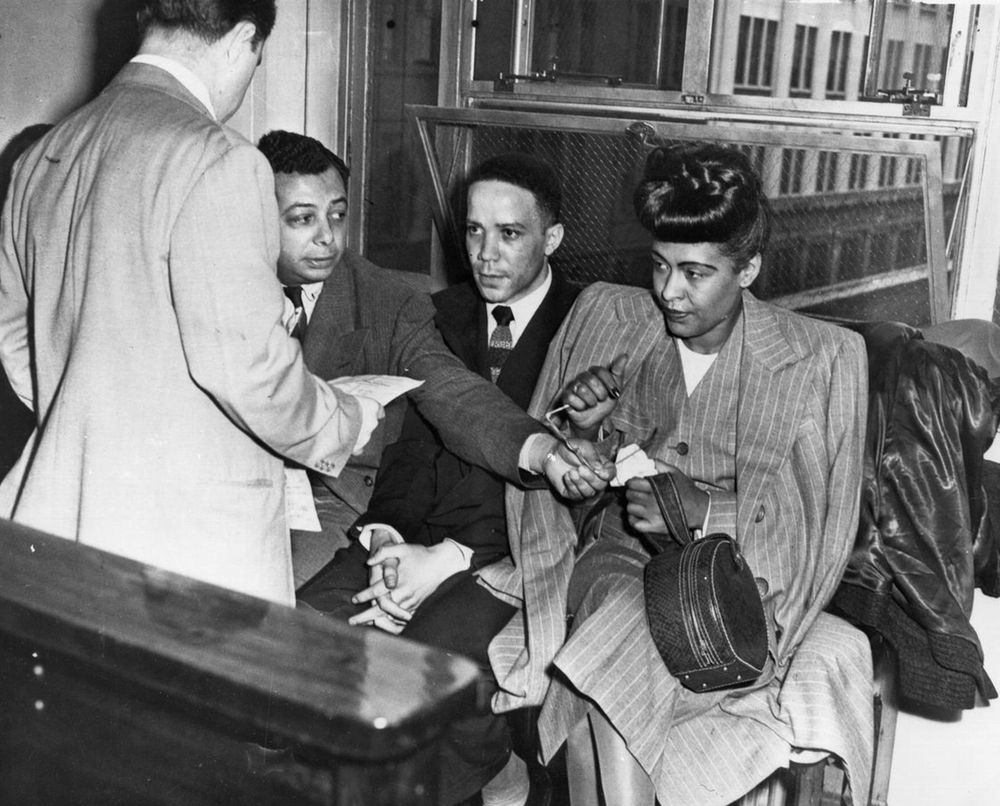 Billie Holiday Arrest