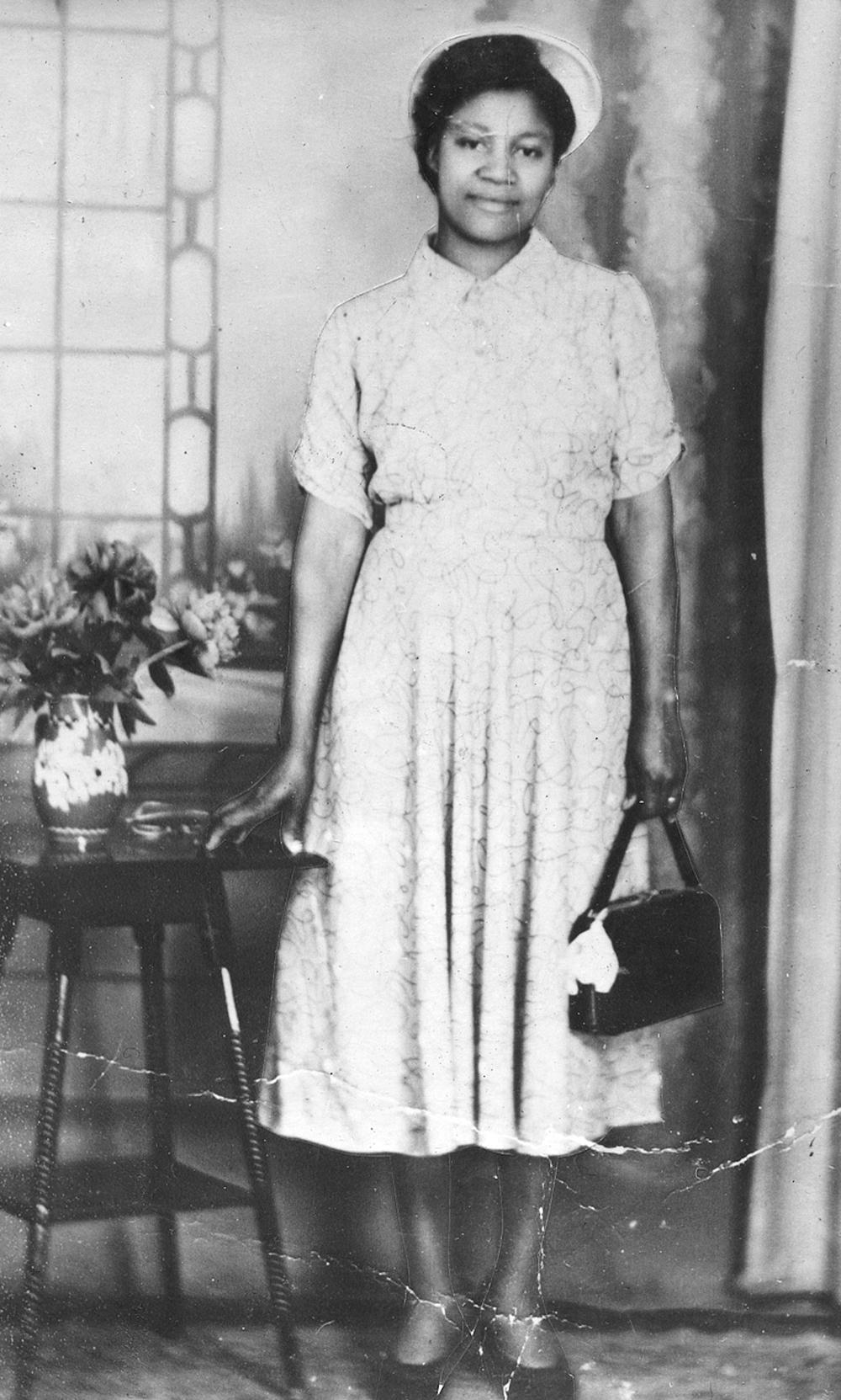 Emmeline Cetira Thomas, 1955