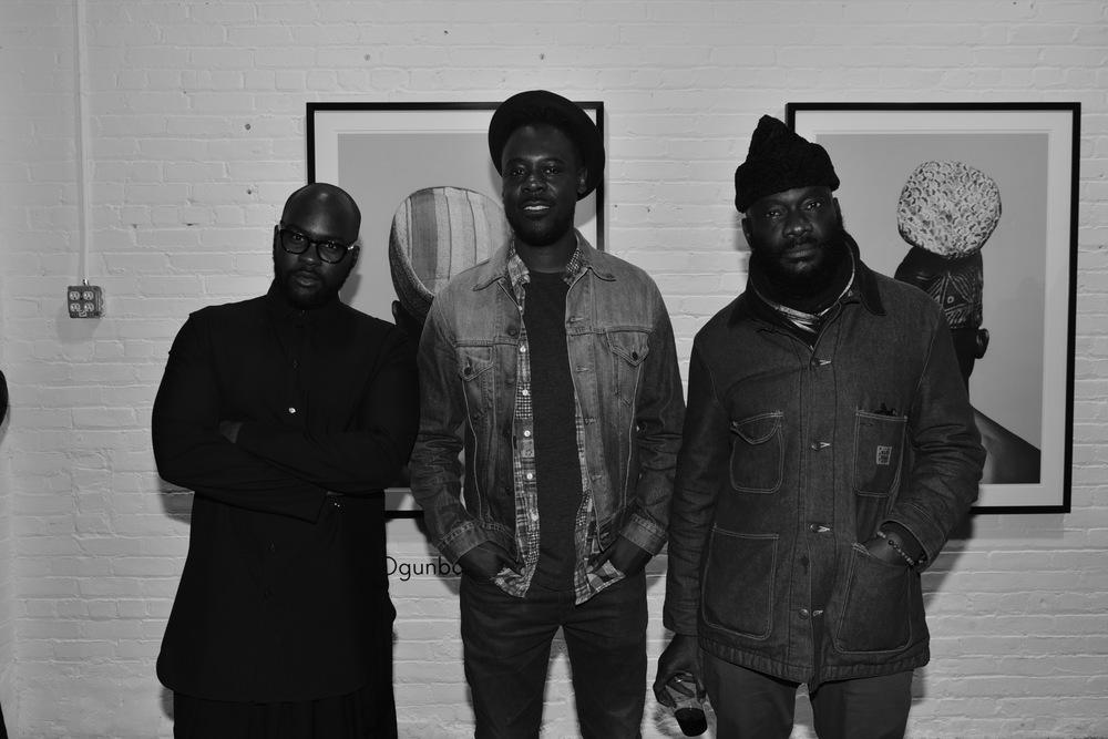 2 of 4 Lakin Ogunbanwo, Sly Augustin, Andrew Dosunmu