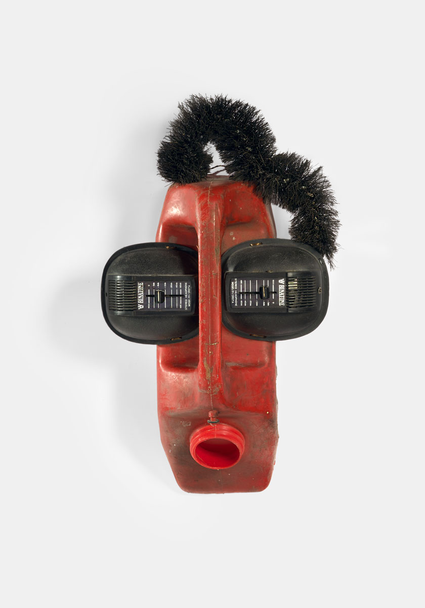 Romuald Hazoumè, Ear Splitting, 1999