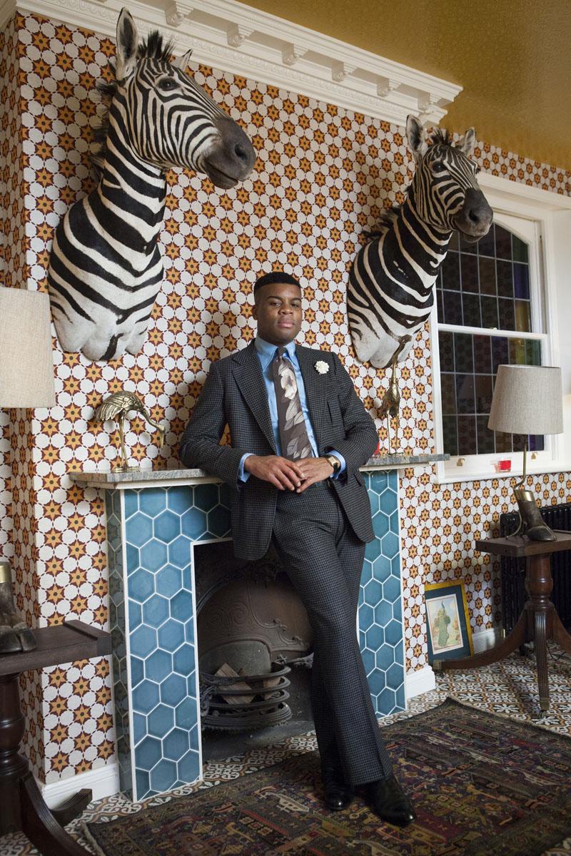 Rose Callahan, Barima Owusu-Nyantekyi at the King's Head Club, London, March 2013;© Rose Callahan