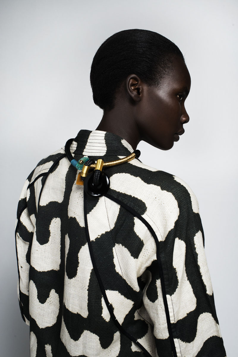 Abasi Rosborough top, Pichulik necklace