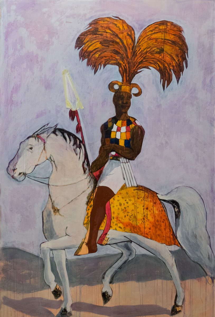 2 of 3 - Godfried Donkor, Ashanti War Captain I, 2017