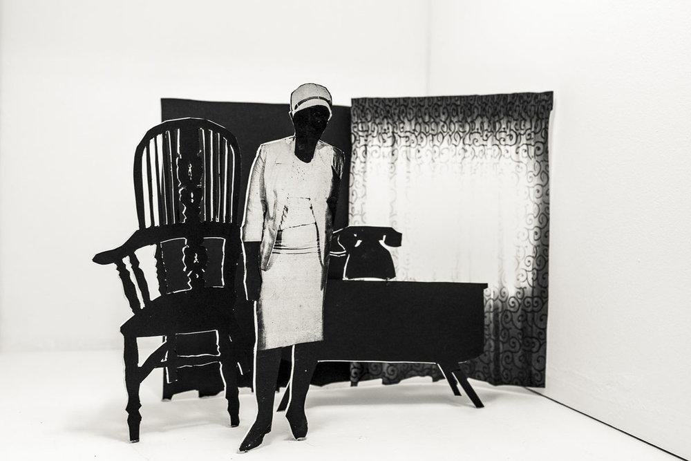 Lebohang Kanye, O emetse mohala, 2016, courtesy Afronova Gallery