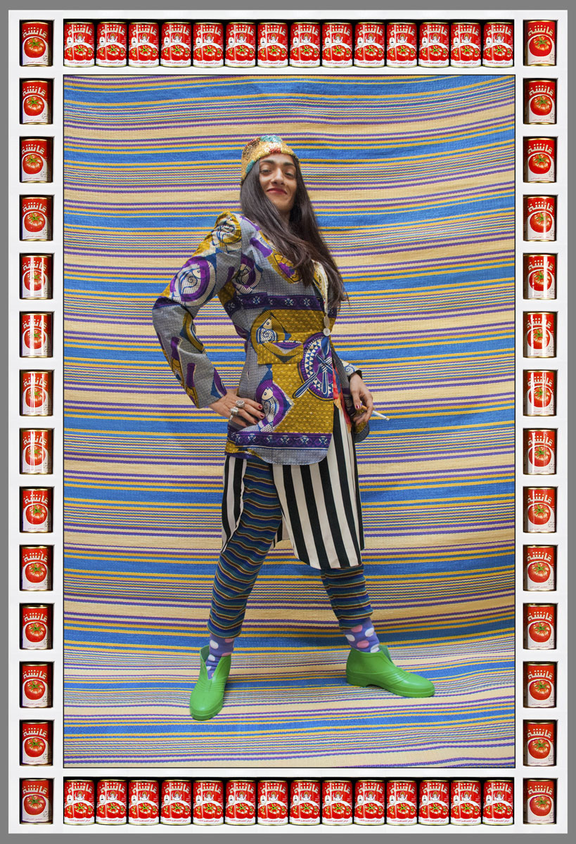 Hassan Hajjaj, Hindi Rockin', courtesy Vigo Gallery