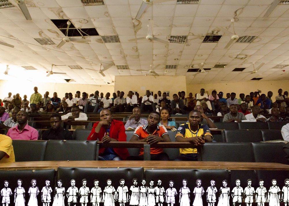 Lecture hall, University of Mubi, Mubi, Nigeria, 2015
