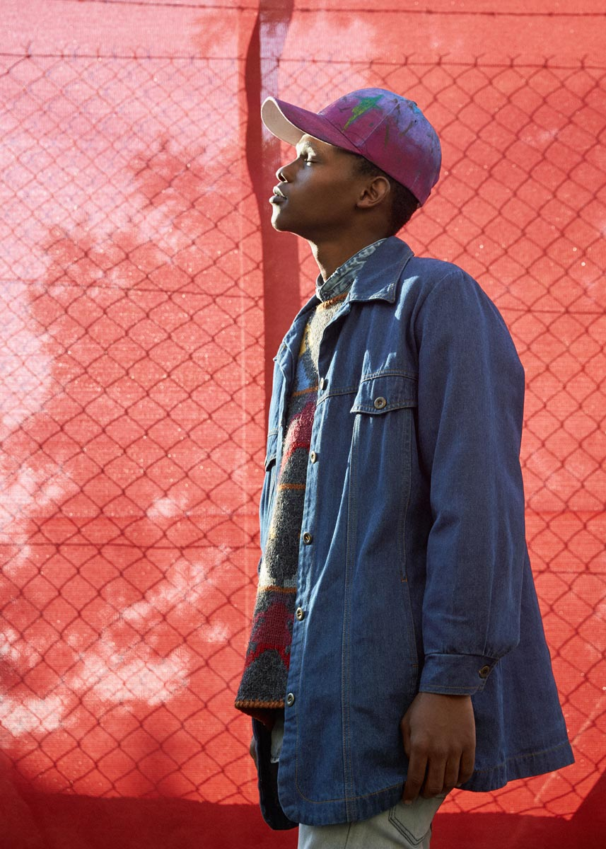 """Motswabangwe Johannes """"I love street fashion and the idea of having to be creative with what I put on."""""""
