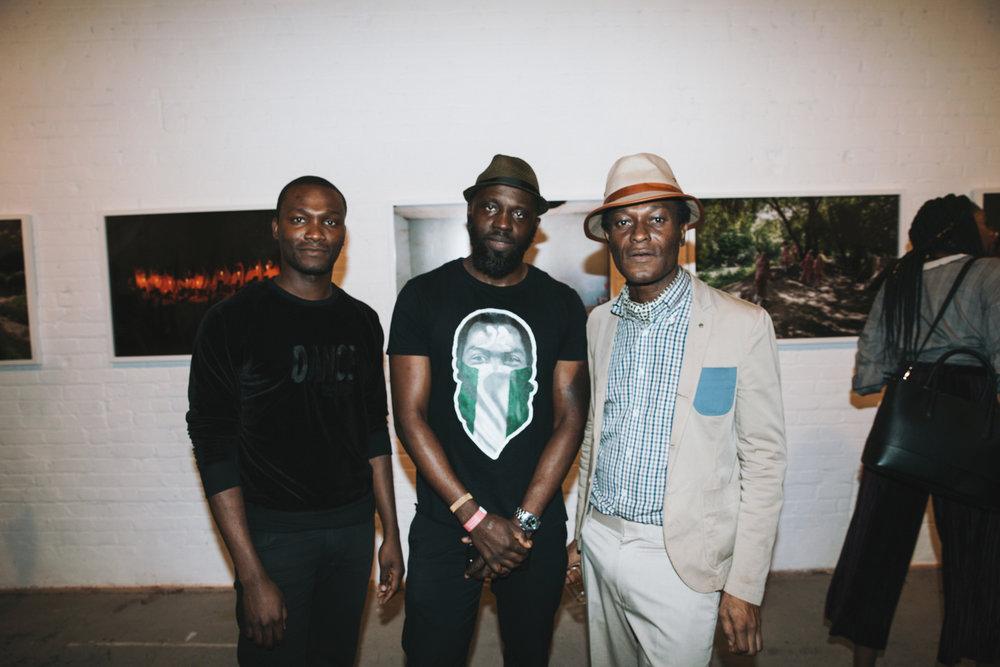3 of 7 - Washington Roberts, Oluwaseye Olusa and Iké Udé