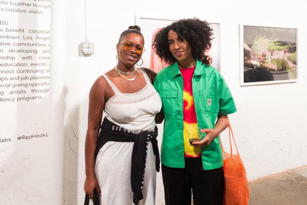 5 of 6 Lynette Nylander and Chioma Nnadi