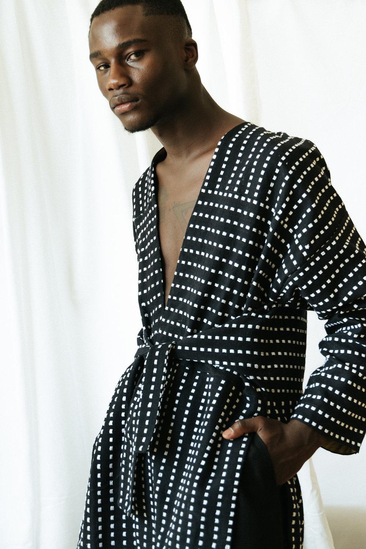 Randy wears Katungulu Mwendwa jacket, SM trousers