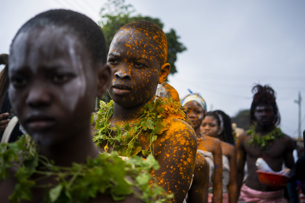 Serge Attukwei Clottey, 360 La, photography Ric Bower
