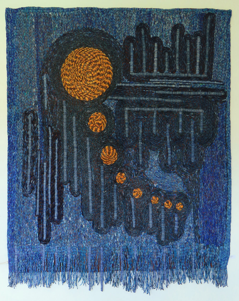 Sanaa Gateja, Blue Mood, 2018
