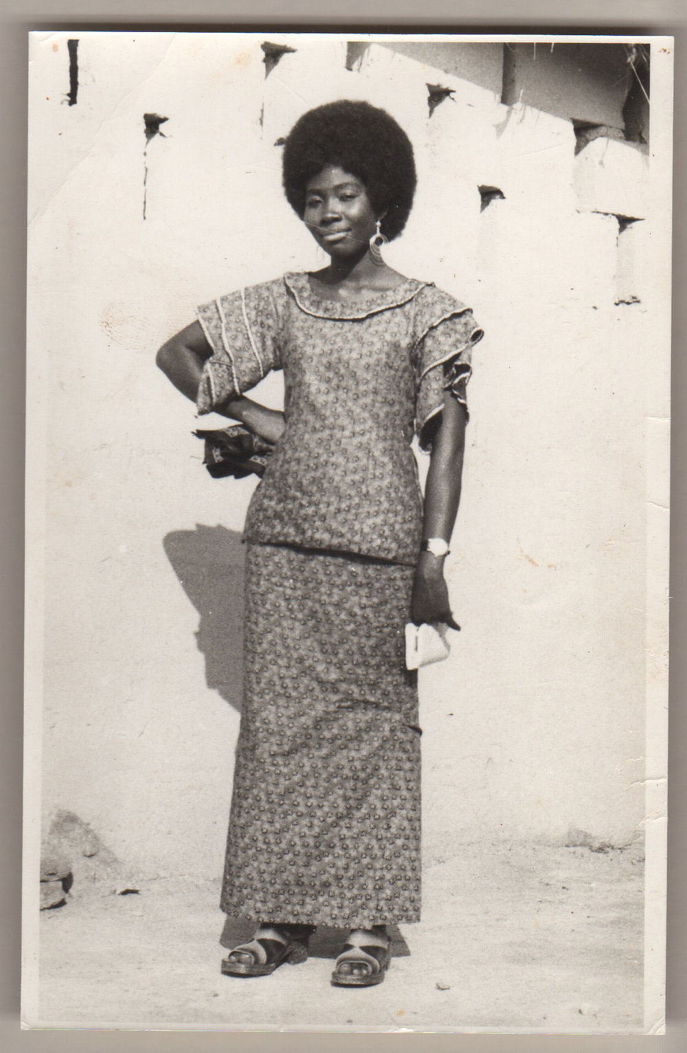 Photographer unknown, Aunty Korama in Kaba and Slit, Accra, Ghana, 1970s