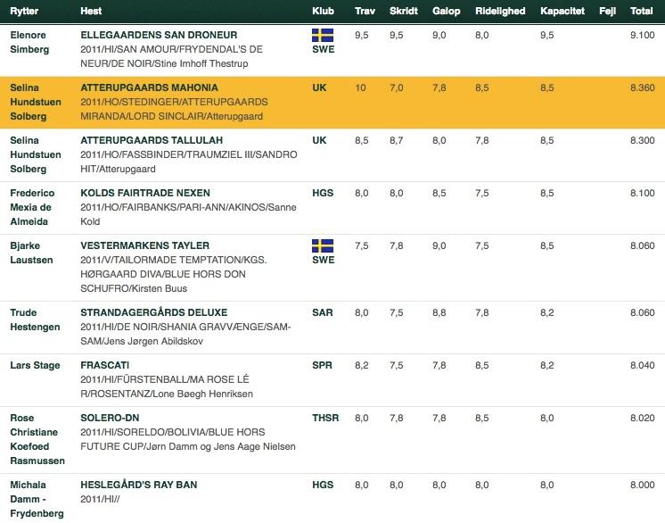 6 års 5 års og 6 års klar til mellemrunden fra Frederiksværk — Horse2Rider 6 års