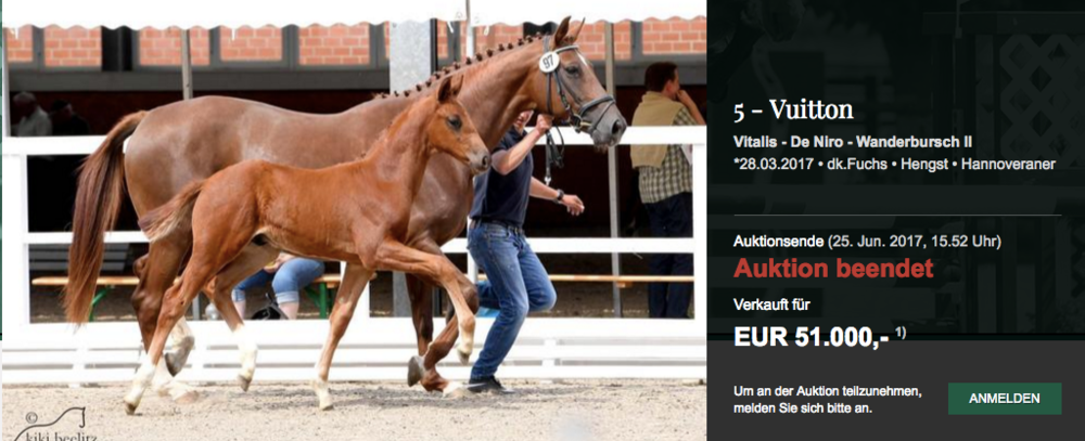 Top Price For A Very Interesting Vitalis De Niro Colt At 1st