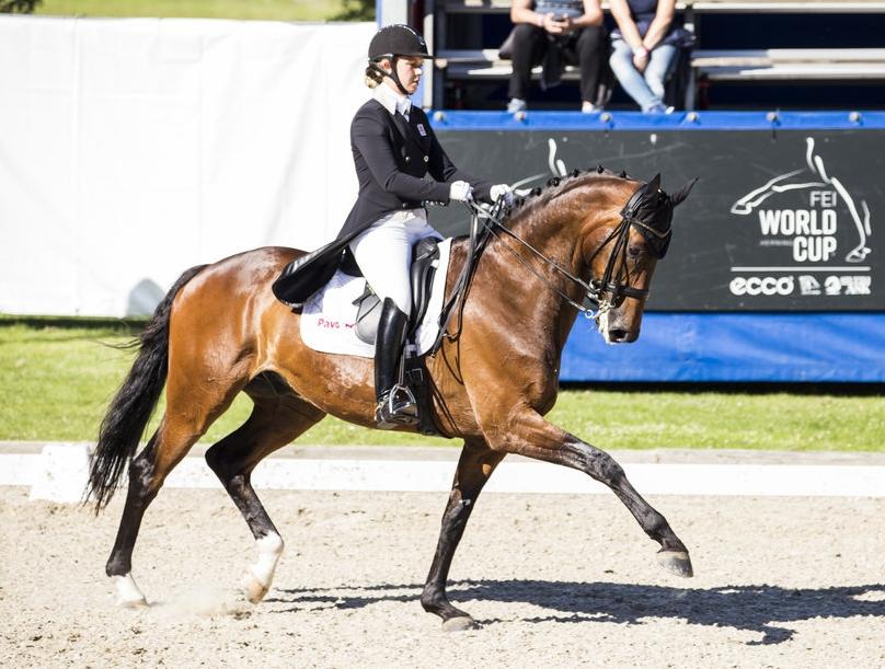 Anna Kasprzak and Rock Star at Danish Championships 2017 - photo: H2R